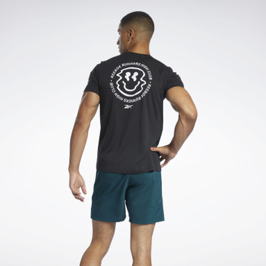 Heren Trail Running Zwart Run Essentials Speedwick T-shirt
