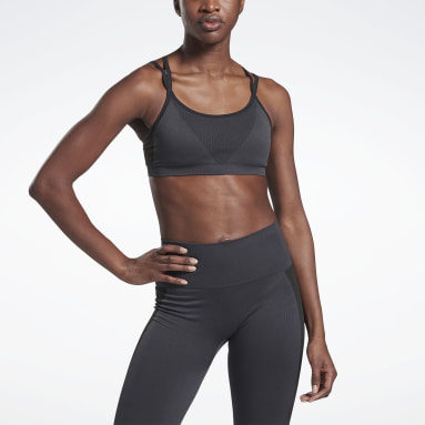 Top Deportivo Sin Costuras VB Gris Mujer Fitness & Training