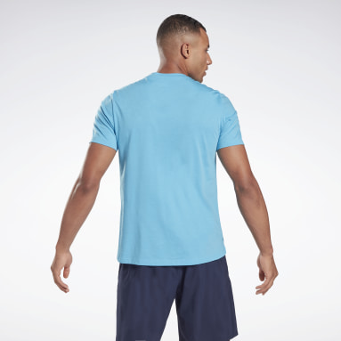 Men Training Blue Speedwick Move T-Shirt