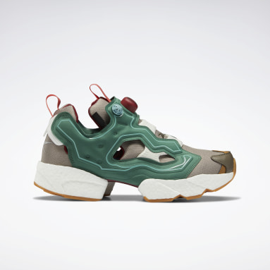Classics Green BBC Instapump Fury BOOST Shoes