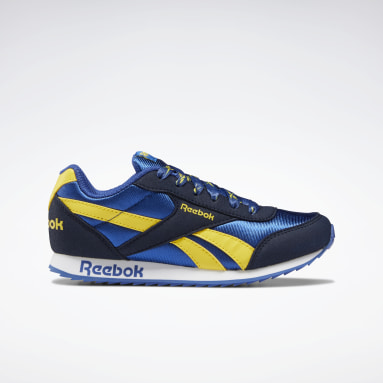 Boys Classics Blue Reebok Royal Classic Jogger 2 Shoes