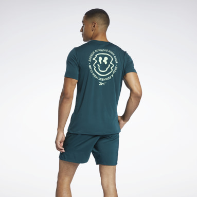 Camiseta Run Essentials Speedwick Verde Hombre Trail Running