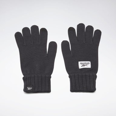 Fitness & Training Black Active Foundation Knit Gloves