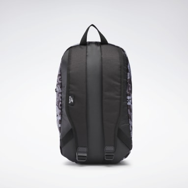 Kids Training Black Graphic Backpack