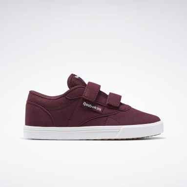 Kids Classics Burgundy Club C Coast Shoes - Preschool