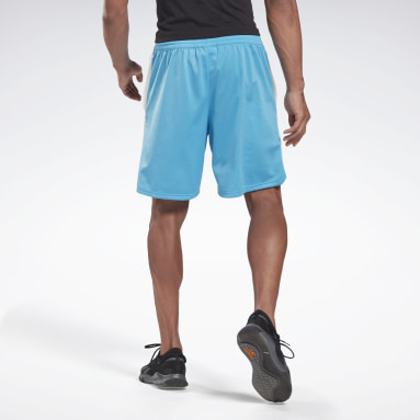 Short Training Essentials Vector Turquoise Hommes Fitness & Training
