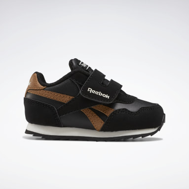 Boys Classics Black Reebok Royal Classic Jogger 3 Shoes