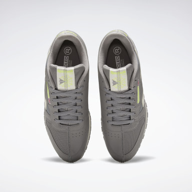 Classics Grey Classic Leather Shoes