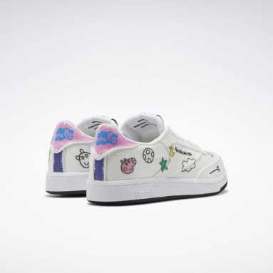 Kids Classics White Peppa Pig Club C Shoes