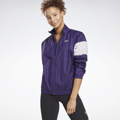 Women Fitness & Training Linear Logo Jacket