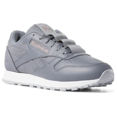 Women Classics Grey Classic Leather
