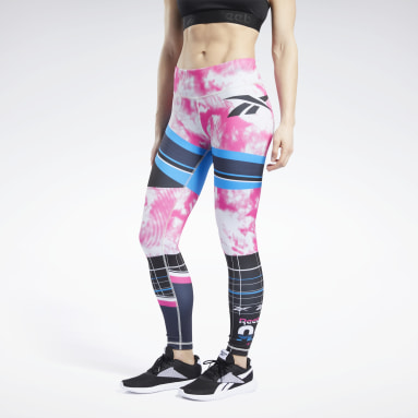 WOR MYT AOP Tight Negro Mujer Fitness & Training