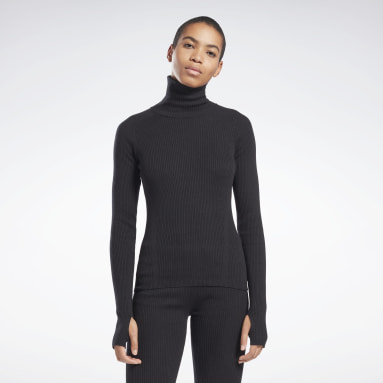 Sweter VB Roll Neck Czerń