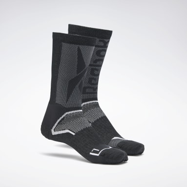 Chaussettes mi-mollets United By Fitness Athlete Tech Noir Studio