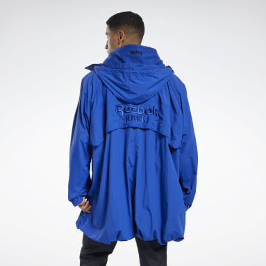 Outdoor Juun.J Windbreaker Blau