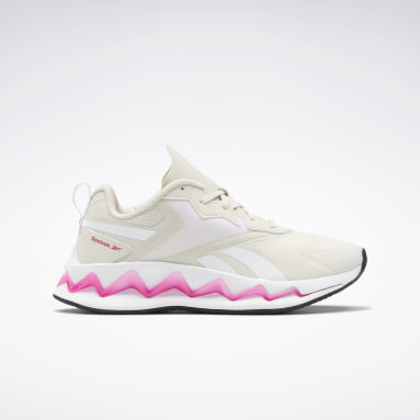 Girls Lifestyle White Zig Elusion Energy Shoes - Grade School