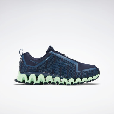Men Running Blue ZigWild Trail 6 Men's Shoes