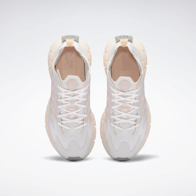 Women Running White Zig Kinetica 21 Shoes