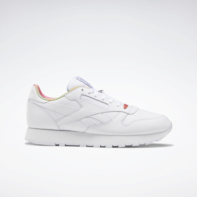 Classics White Classic Leather Pride Shoes