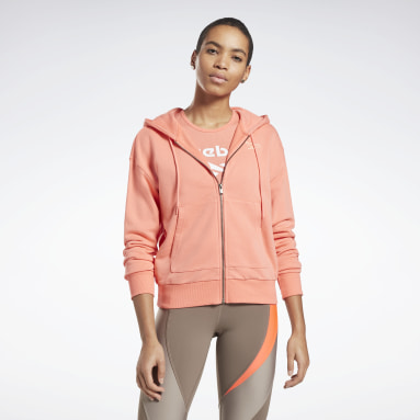 Women Fitness & Training Reebok Identity Zip-Up Track Jacket