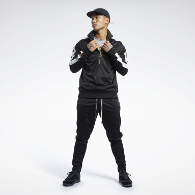 Men Fitness & Training Black Combat CMG Track Suit