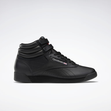 Women Classics Black Freestyle Hi Women's Shoes