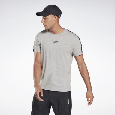 T-shirt Training Essentials Tape Gris Hommes Fitness & Training
