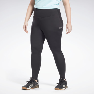 Frauen HIIT Lux High-Rise Perform Leggings (Plus Size) Schwarz