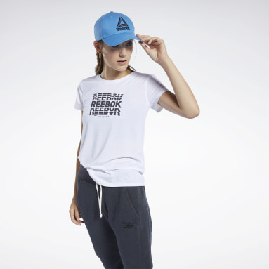 Women Fitness & Training White ACTIVCHILL Graphic Tee
