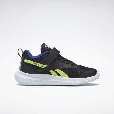Jongens City Outdoor Zwart Reebok Rush Runner Alt Schoenen