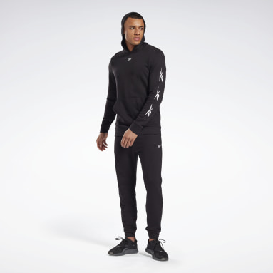 Men Fitness & Training Black Training Essentials Vector Track Suit