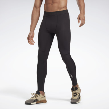Tight United By Fitness Compression Nero Uomo Fitness & Training