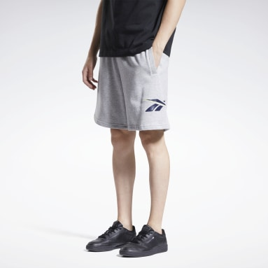 Men Classics Grey Classics Knit Shorts