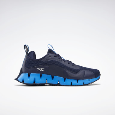 Men Walking Blue Zig Dynamica Men's Shoes