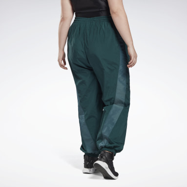 Women Dance Studio Woven Tracksuit Bottoms (Plus Size)