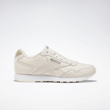 Women Classics Pink Reebok Royal Glide LX Shoes