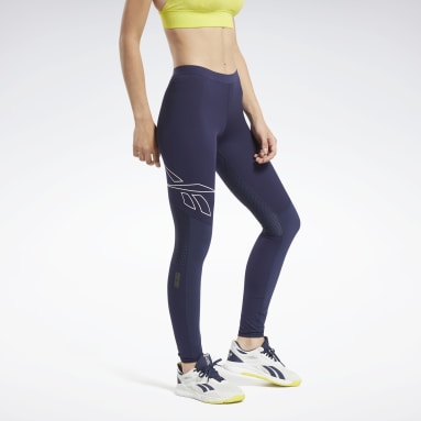 Women Cycling Blue United by Fitness Compression Tights