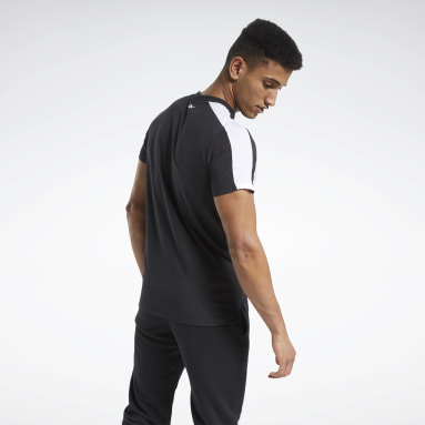 TE LL SS Graphic Tee Negro Hombre Fitness & Training