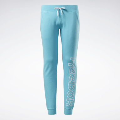 Pantalon de jogging Reebok Outline Turquoise Filles Fitness & Training
