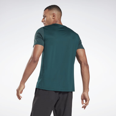Men Training Green Activchill Move T-Shirt