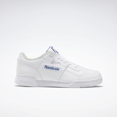 Men Classics White Workout Plus Shoes
