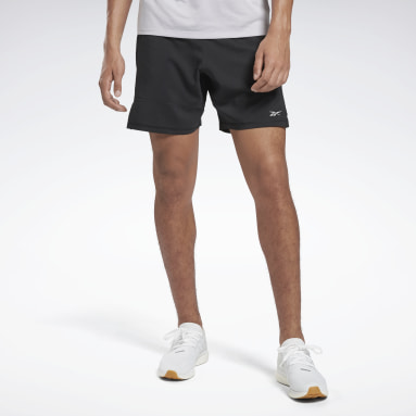 Heren Hardlopen Zwart Running Essentials Short