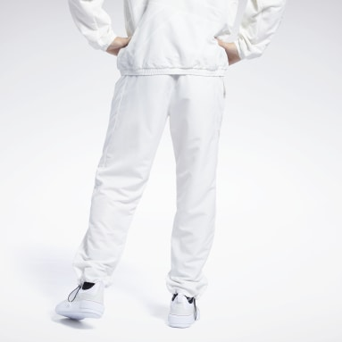 Men Classics White Classics Track Pants