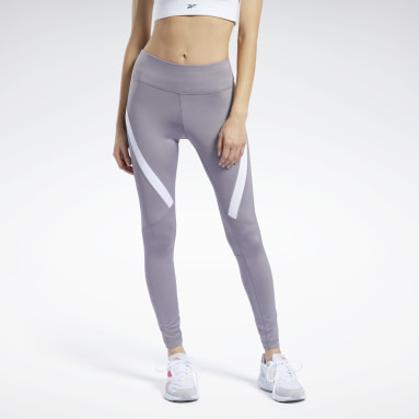 Women Training Grey Workout Ready Vector Leggings