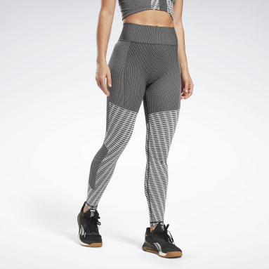 Leggings Seamless Nero Donna Yoga