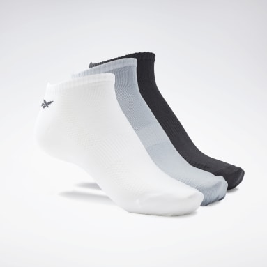 Men Fitness & Training White One Series Training Socks 3 Pairs