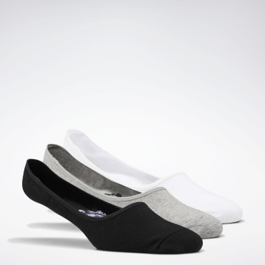 Fitness & Training Black Active Foundation Invisible Socks 3 Pairs