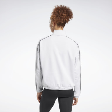 Workout Ready 1/2 Zip Sweatshirt Blanc Femmes City Outdoor