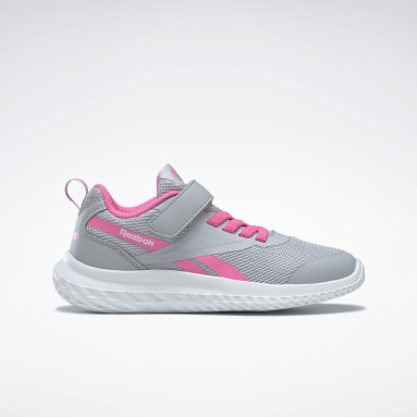 Mädchen City Outdoor Reebok Rush Runner 3 Alt Shoes Grau