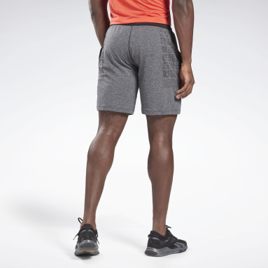 Heren Trail Running Grijs United By Fitness MyoKnit Seamless Short